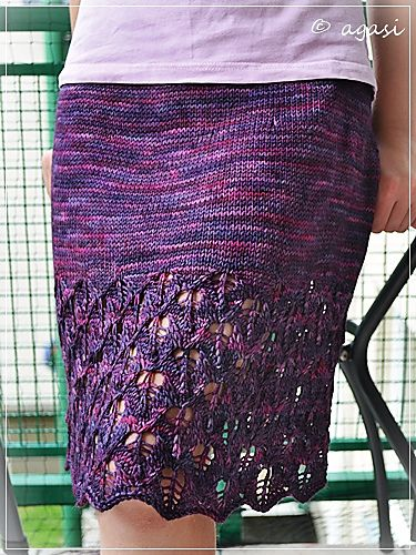 Spring Foliage by Monika Sirna. malabrigo Arroyo in Purpuras colorway.