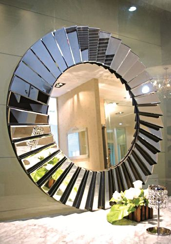 Contemporary Art Deco Hayley Mirror
