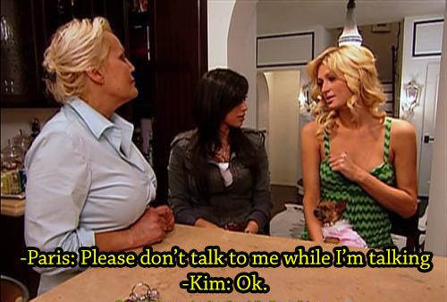 A friendly reminder that Kim Kardashian used to work for Paris Hilton (10 photos)