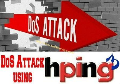 Denial-of-service Attack – DoS using hping3 with spoofed IP in Kali Linux - blackMORE Ops - 51