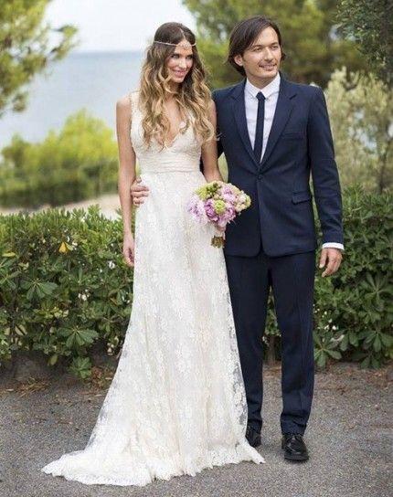 Vestidos de boda civil de famosas