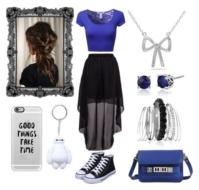"""""""S.L.F Casual Night Out"""" by fantasyblast on Polyvore featuring Proenza Schouler, Casetify, Disney, Avenue and Ice"""