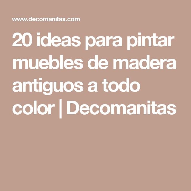 M s de 25 ideas incre bles sobre camas antiguas en - Aprender a pintar en madera ...