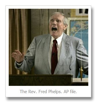The Rev. Fred Phelps of Westboro Baptist Church (God Hates Fags) dies