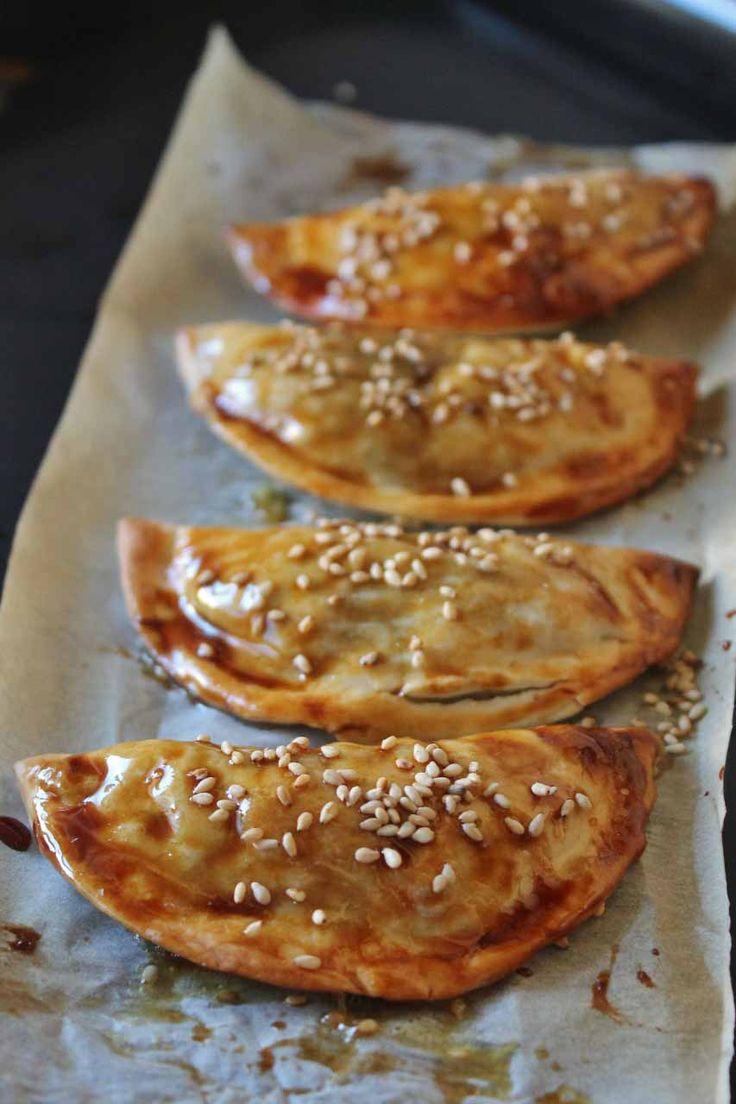 Empanadillas de espinacas y queso de cabra  #food #foodie #tuna #tomate #spinach #cheese #empanadillas