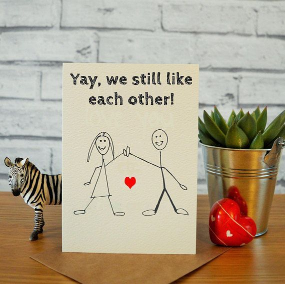 Funny anniversary card, cards for husband, card for boyfriend, cards for him, card for him, funny valentines card, valentines day card wife #valentinesday #valentine #valentinesdaycard #vday #valentinesgift #giftideas #card #love #affiliate
