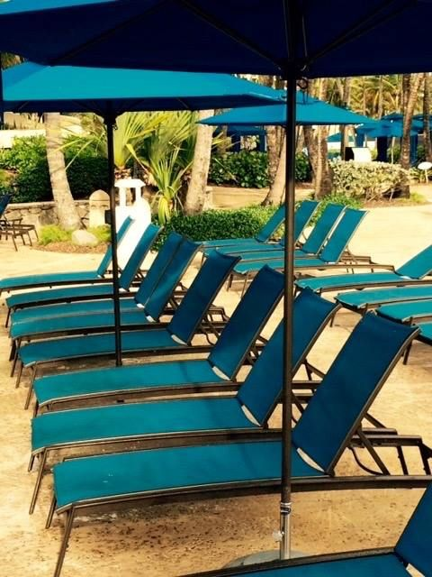 sit back and relax on a tropitone elance chaise lounge at wyndham grand rio mar