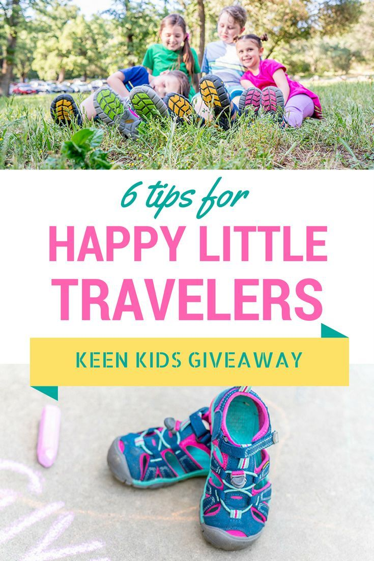 6 Tips to Keep Little Travelers Happy plus win KEEN shoes for you entire family!