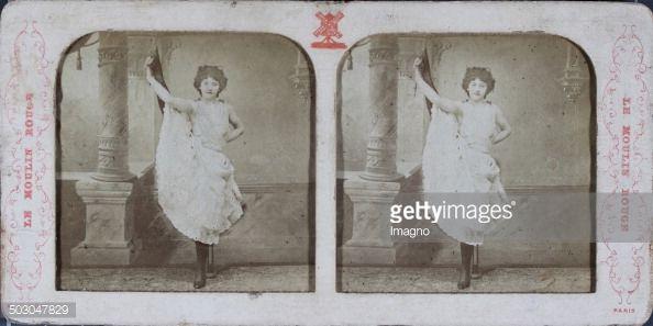 News Photo : Le Moulin Rouge Paris. Lilli [Can-Can dancer...