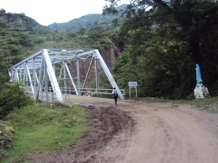 Puente Luis Serrano Blanco, 1952; entre la Fuente y Galán.