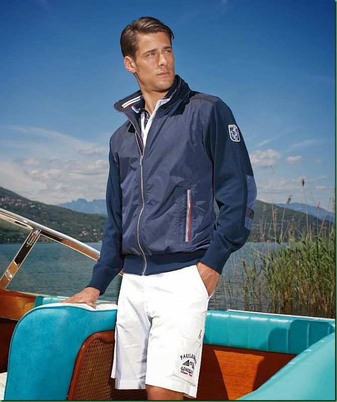 Paul & Shark | Men's Outfit for Spring Summer 2014 | Men's Fashion | Menswear | Men's Apparel | Shop at designerclothingfans.com
