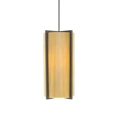 Tech Lighting 700MOESXS MonoRail Essex Sand Slumped Glass Panels Pendant - 12v Halogen (50 W - Downlight - Nickel Finish), Satin Nickel