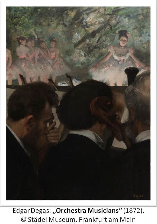 "Edgar Degas: ""Orchestra Musicians"", 1872; © Städel Museum, Frankfurt am Main"