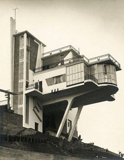 Villa Monzeglio, Colinas de Bello Monte, Caracas. Antonio Montini, 1953. #architecture