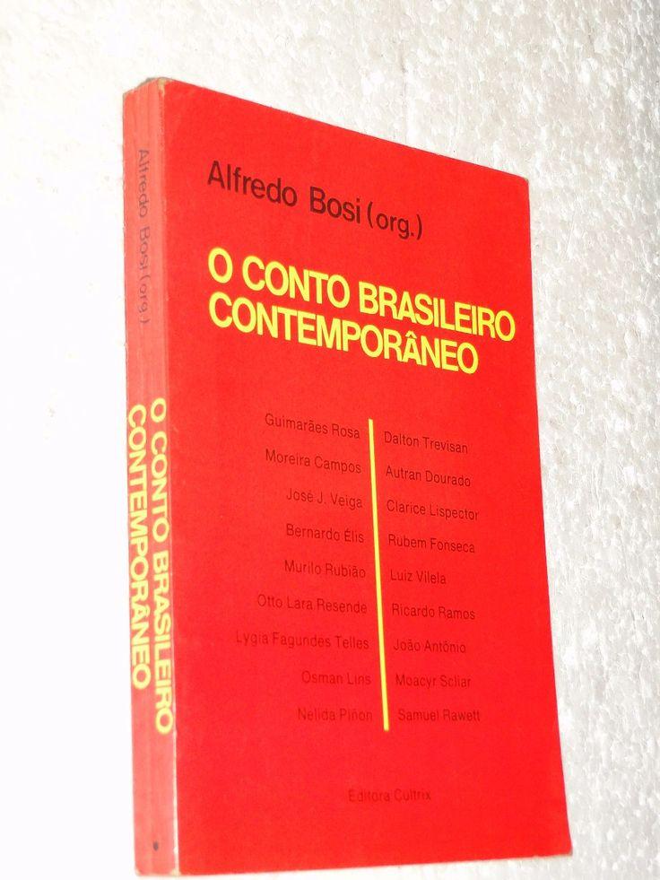 Livro Conto Brasileiro Contemporâneo- Alfredo Bosi- Lojaabcd - R$ 8,99 no MercadoLivre
