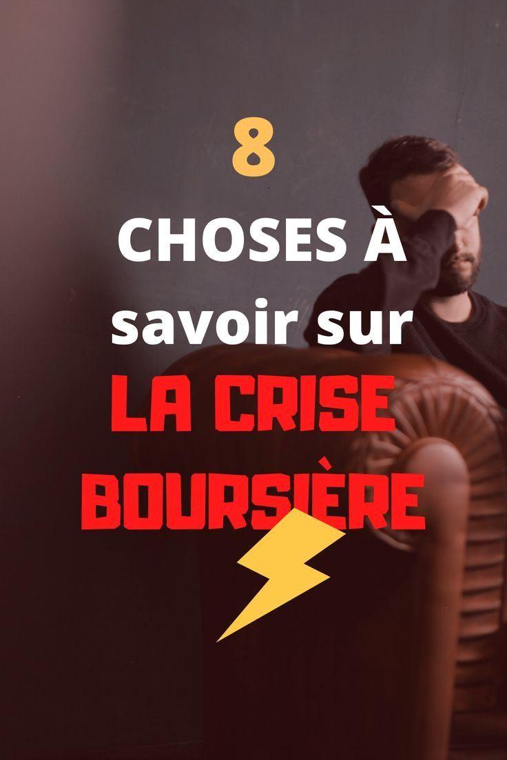 8 Choses A Savoir Sur La Crise Boursiere Les Corrections Boursieres Vont Souvent Peur Aux Investisseurs Nouveaux Comment Experime In 2020 Finance Movie Posters Index