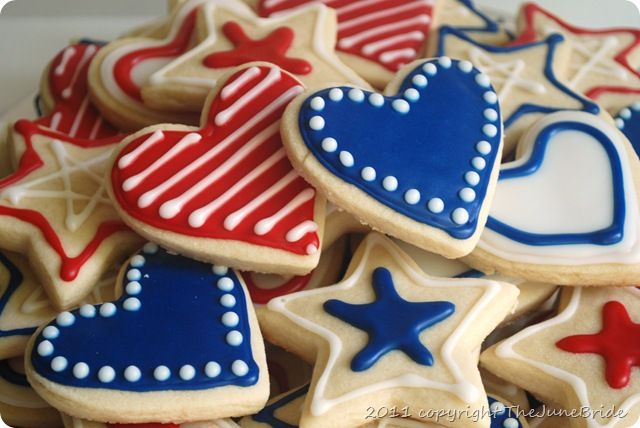 4th of july cookie decorating ideas