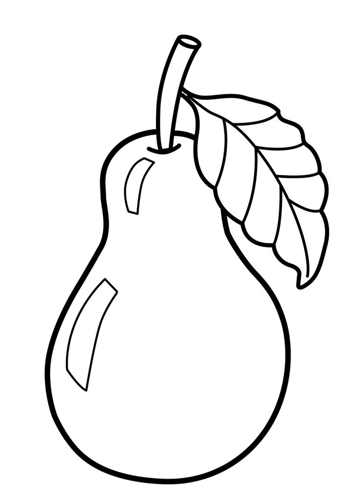 31 best fruits coloring pages images on Pinterest Colouring