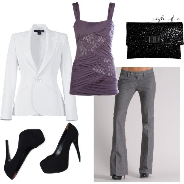 Purple, created by styleofe on Polyvore