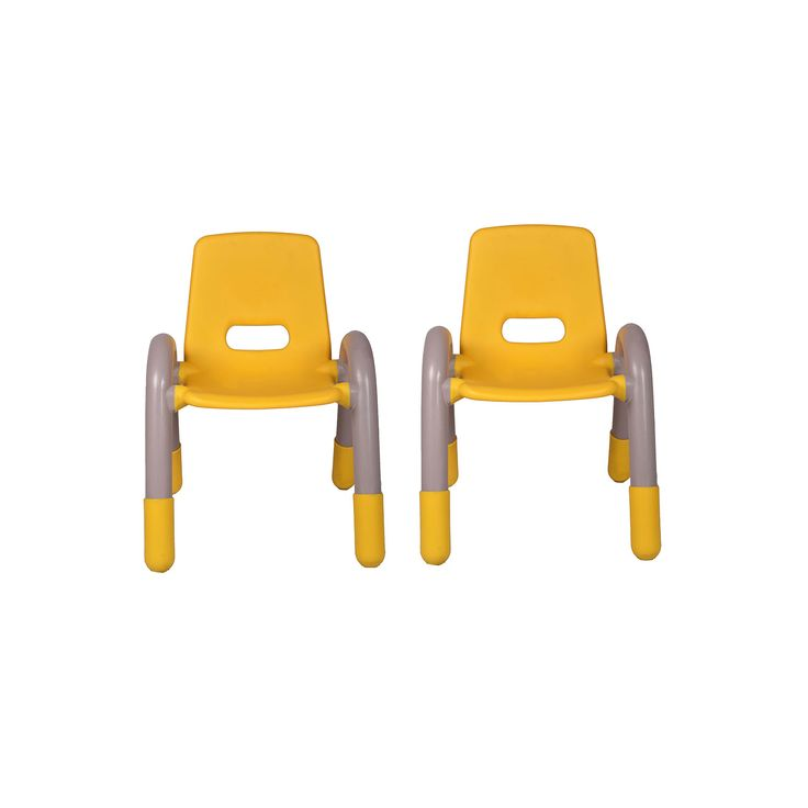 "THE VOLVER ENGINEERING PLASTIC KIDS CHAIR YELLOW PAIR  Kids Furniture Manufacturer| Kids Study Tables & Chairs Suppliers| Vjinterior  ""kids furniture"" ""kids study chair"" ""kids study table"" ""study chair and table"" ""study table for kids"" ""kids table"""