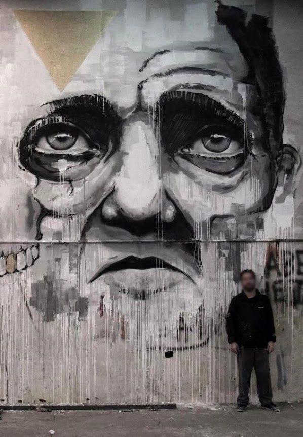 Oporto, Portugal by Draw   Street Art   Street Artists   Art   Urban Art   Modern Art   Urban Artists   Mural   Graffiti   travel   Schomp MINI