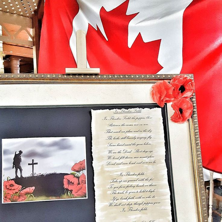 Flag #138 of 150 taken at the Remembrance Day display at #RiversideGlen in #Guelph. Showcasing the poem by John McCrae 'In Flanders Fields'. Honouring the men and women who have faught for our freedom. . . . . . #remembranceday #lestweforget #poppy #canada #remember #thankyou #weremember #freedom #canadaremembers #peace #november11 #respect #remembrance #honour #rememberthem #neverforget #inflandersfields #SchlegelVillages