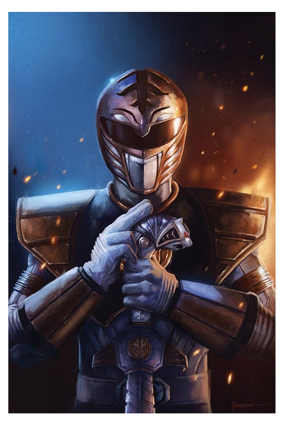 White Ranger by PinkHavok on Etsy You Can Buy It Here!