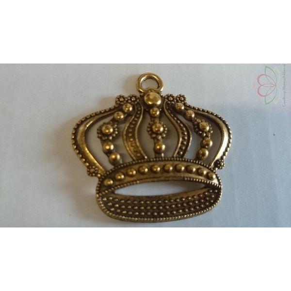 Kroon Goudkleurig Messing Hanger DOOSJE 6 - Goedkoop-bloemschikken
