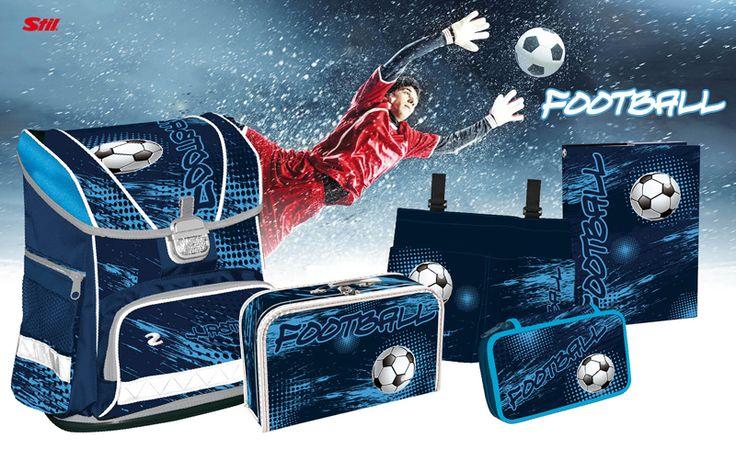 F O O T B A L L Sport, který má rád snad každý kluk. Fotbal jsme zakomponovali do designu tak, aby sděloval rychlost, nadšení a přitom jednoduchost.