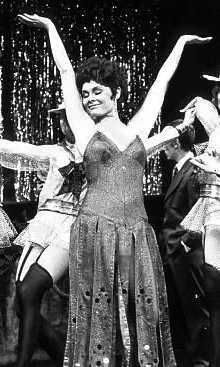 Judi Dench as Sally Bowles in the original London production of Cabaret (1968)