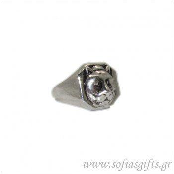 Ανδρικό δαχτυλίδι αρκούδα - Είδη σπιτιού και χειροποίητες δημιουργίες | Σοφία #ανδρικα #δαχτυλιδια #κοσμηματα #andrika #daxtylidia #kosmhmata