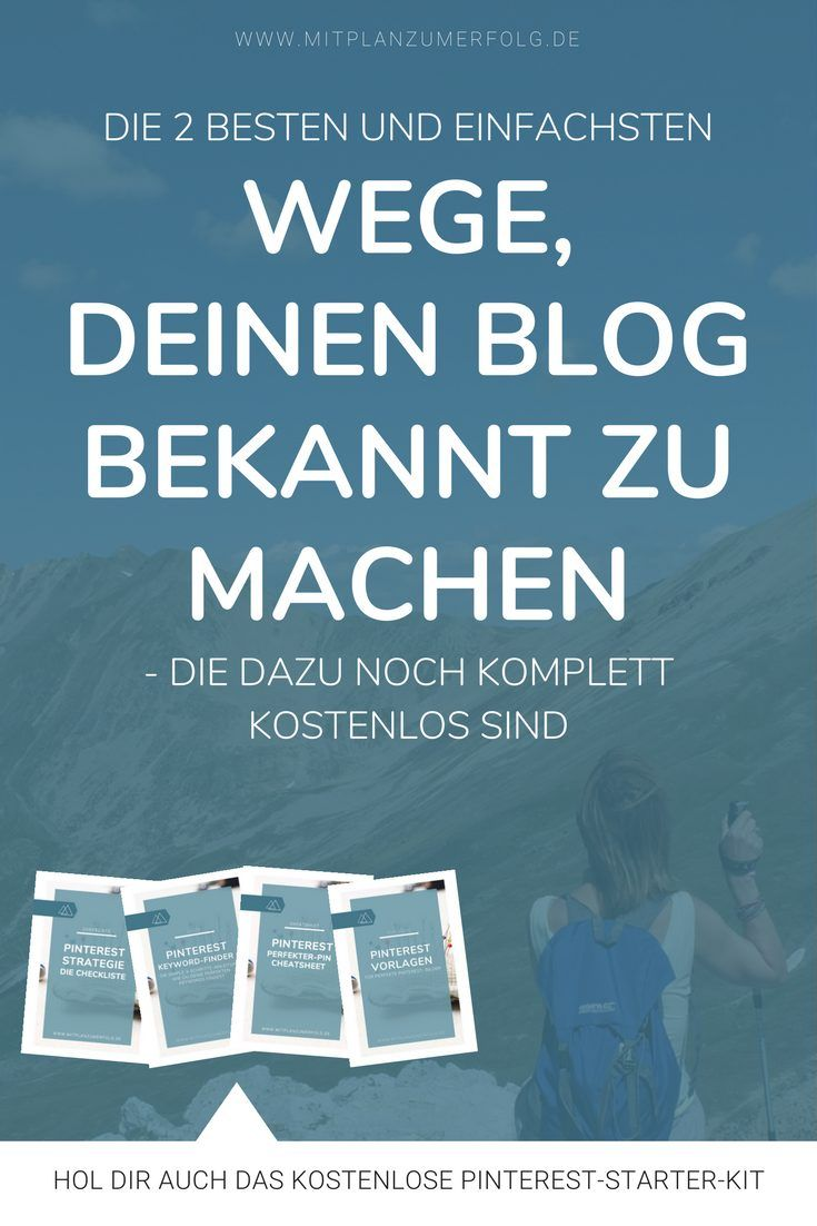 Klicke hier und lerne, wie Du Deinen Blog am einfachsten bekannt machst und mit Hilfe der großen Suchmaschinen die richtigen Besucher auf Deine Inhalte