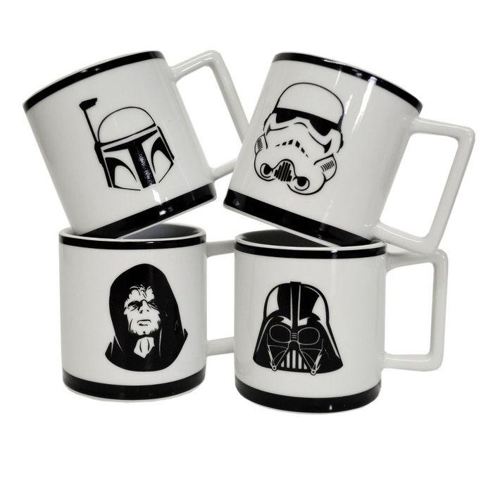 Amateur d'expresso acidulé, corsé, léger ou doux et crémeux ? Découvrez ce joli coffret 4 tasses Star Wars pour une pause café entourée d'amis et proches. Un idée cadeau originale ! #cadeau #cadeauhomme #cadeaufemme #cadeauoriginal #starwars #darkvador #darthvader #expresso #café