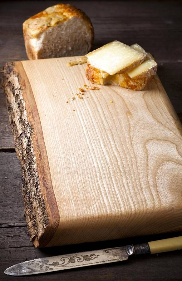 Waney Edge Wooden Ash Board