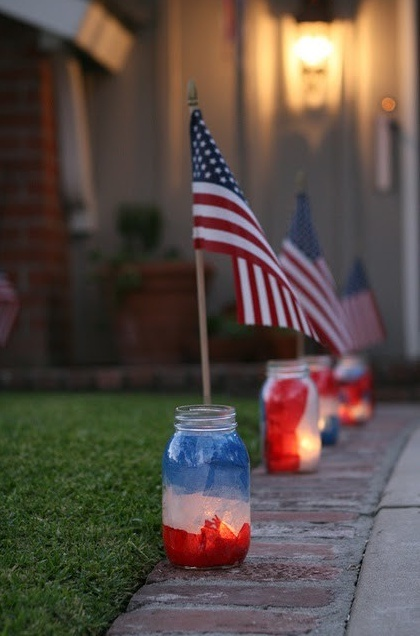 Not to beat a dead horse with the whole candle/light thing again, but these would be cool to send home with the kids for when it's dark and they're watching the fireworks