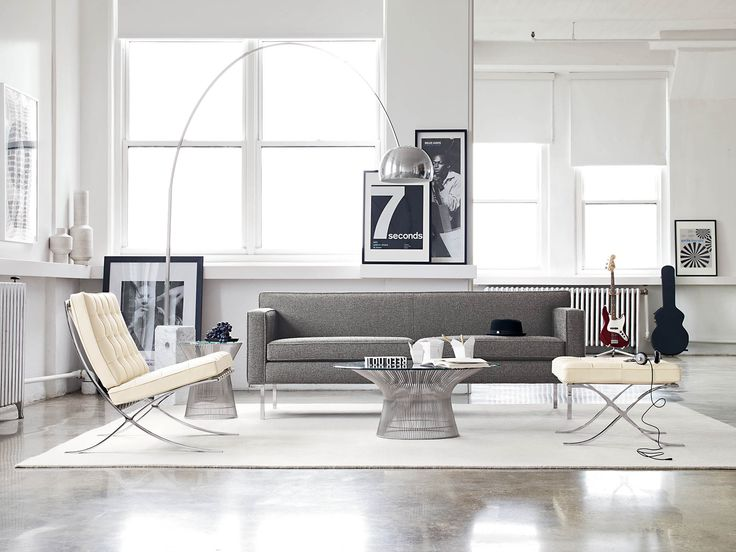 Can you find all the musical references in this photo? Platner Coffee Table | Designed by Warren Platner