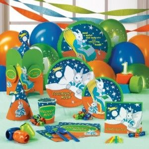 Goodnight Moon 1st birthday party supplies
