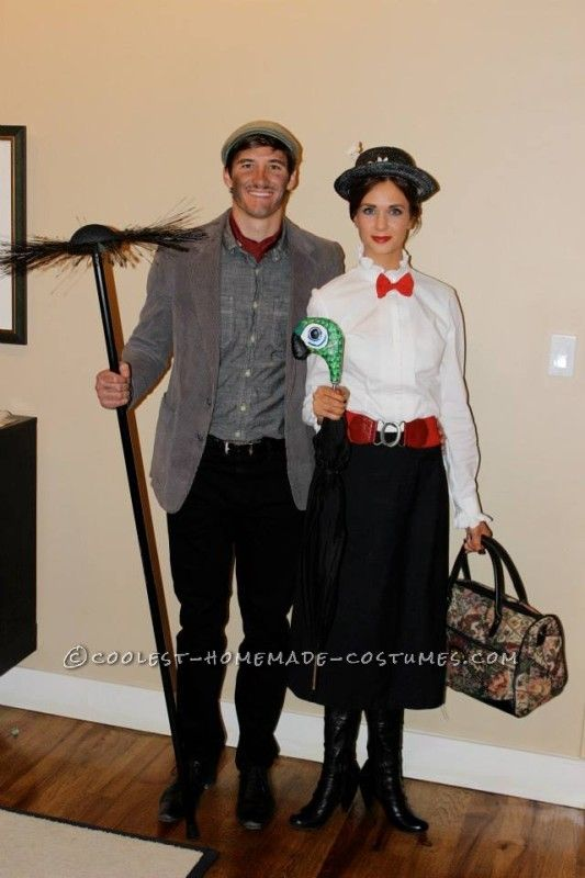 Cool Mary Poppins and Bert Couple Costume ... This website is the Pinterest of costumes