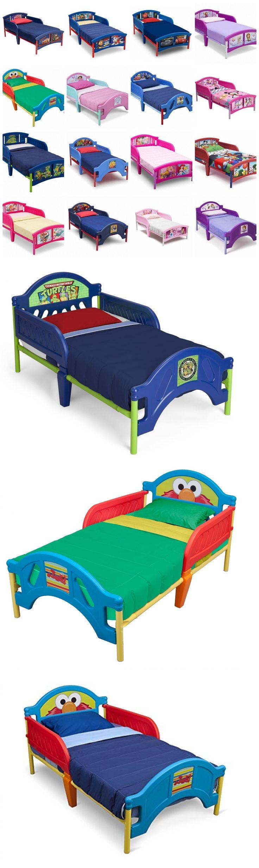 Kids at Home: Delta Children Toddler Bed Boys Girls Kids Bedroom Furniture Plastic Disney New -> BUY IT NOW ONLY: $86.89 on eBay!