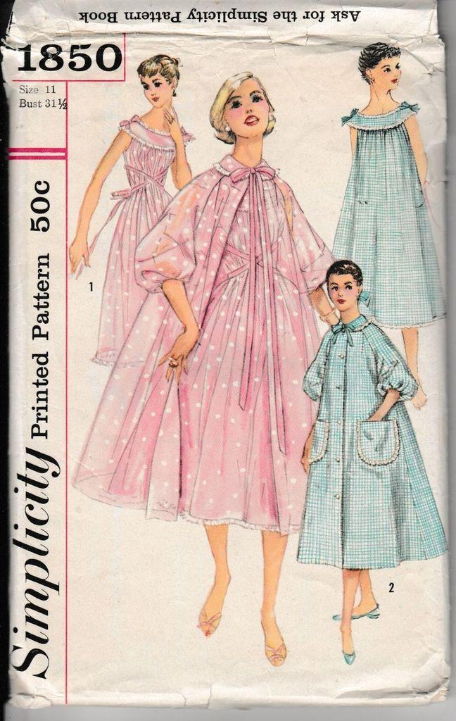 136 besten Vintage Sewing Patterns 1940\'s & 1950\'s Bilder auf ...