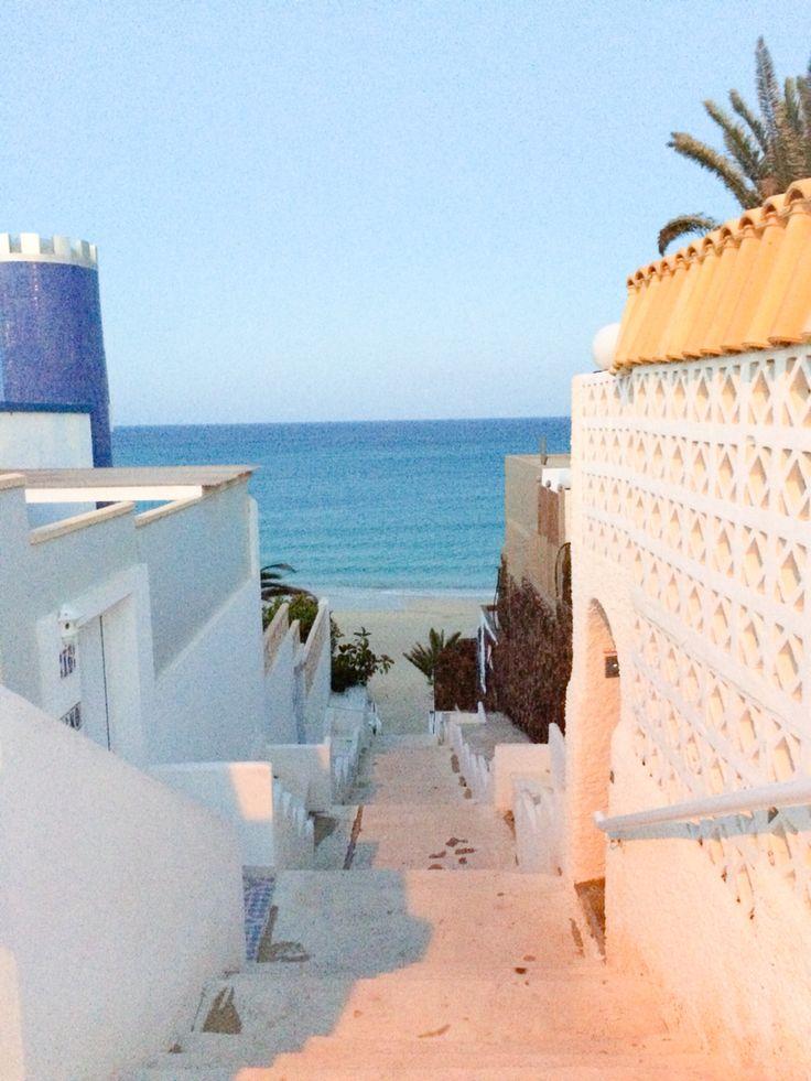 Costa Calma, Fuerteventura, Spanien