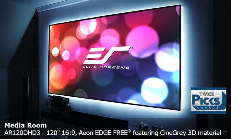 Elite Screens that is dedicated to provide the Electric Projection Screens, Electric Wall Projector Screen, Fixed Frame Projector Screens and Floor Stand Projector Screen.