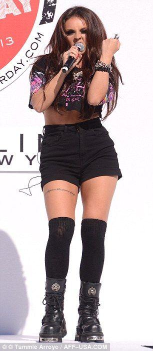 Jesy Nelson wow she´s become so skinny cause media said she was too big =O