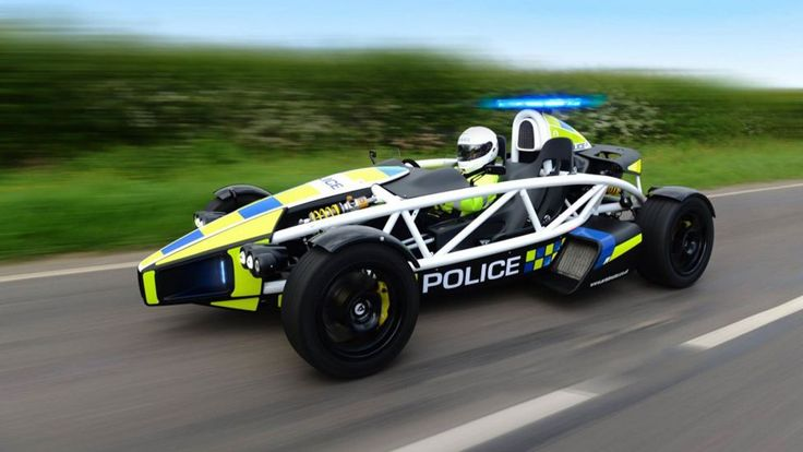 Caught Speeding Today by this!    Ariel Atom Police Car