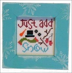 Pine Mountain Designs - Frame Up Kit - JanuaryCrosses Stitches Snowmen, January Frames, Neige Au, Crosses Stitches Kits, Crosses Stitches Needlework, Crosses Stitchery, Snowman, De Neige, Stitches Holiday
