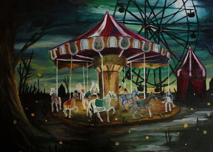 Kt quả hình ảnh cho abandoned merry go round