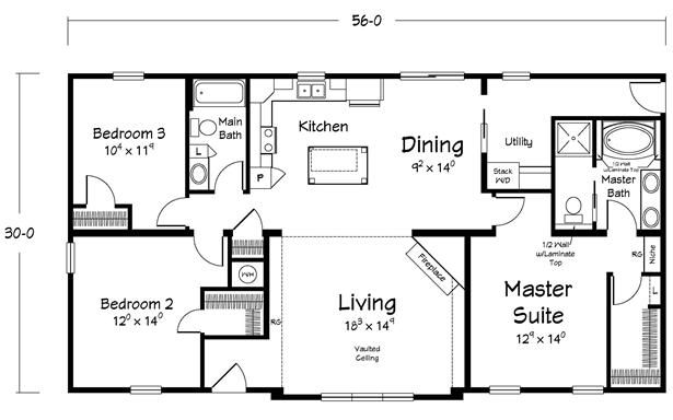 The jacob 39 s creek modular home manufacturer for Small house plans maine