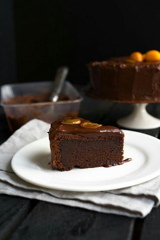 Тотально шоколадный торт от Энди шефа