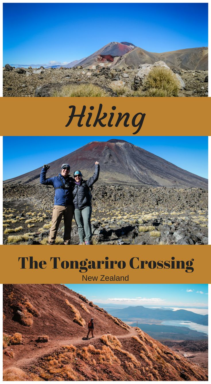 Hiking the Tongario Crossing, New Zealand. One of the worlds best day hikes. Click to read what it was like to take on the Tongariro Crossing at http://www.divergenttravelers.com/finding-stride-tongariro-crossing/