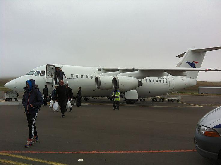 Vagar airport in the Faroe Islands
